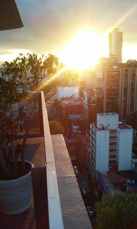 Hotel Century Zona Rosa Mexico: VISTA DESDE EL PISO 17