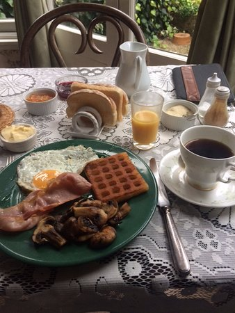 Parkside: A very nice breakfast