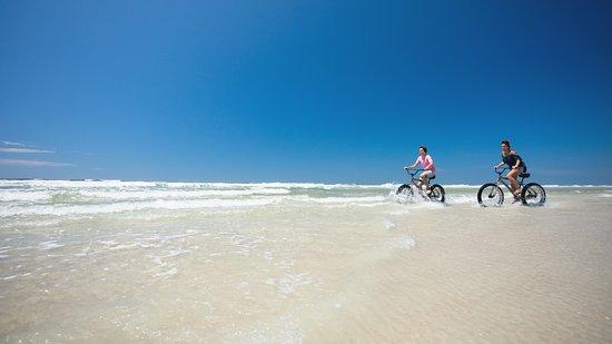 Cycling on the New Smyrna Beach