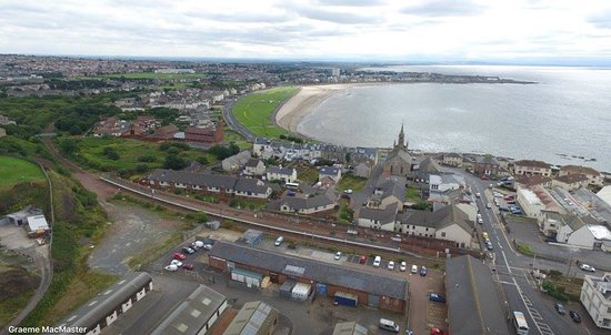 Saltcoats Beach Photo