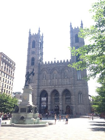 Montreal, Canadá: Notre-Dame Basilica.