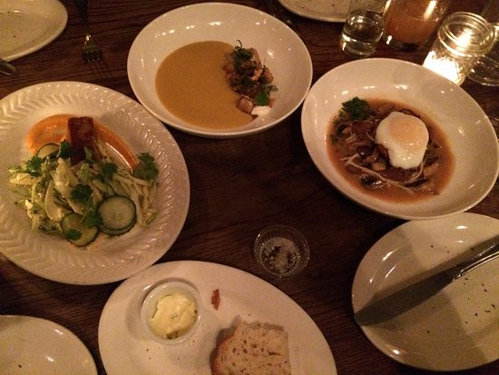 Fedora Restaurant: Selection of dishes