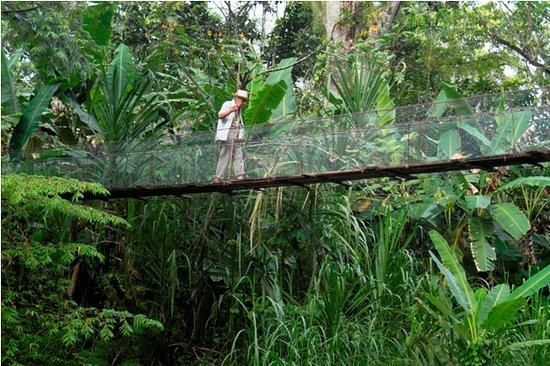 Kekoldi Indigenous Reserve : En Uatsi se puede visitar Rancho Grande, cruzar un puente colgante, visitar las cercanas catarat