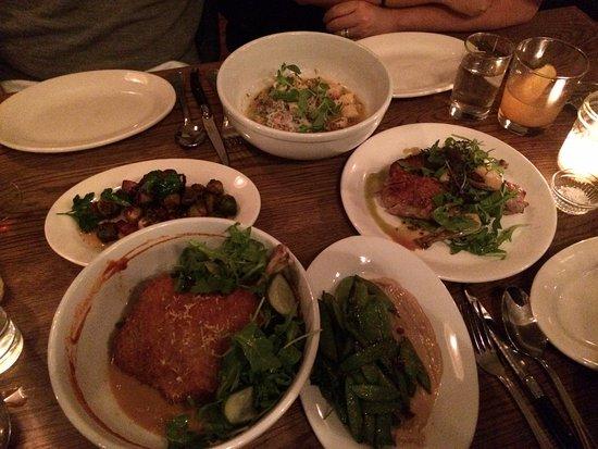 Fedora Restaurant: All very tasty