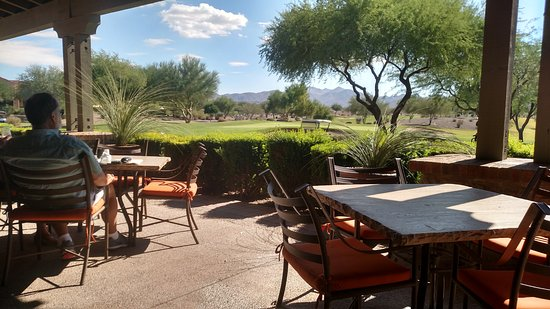Buckeye, AZ : View of White Mountains from Indigo Grille