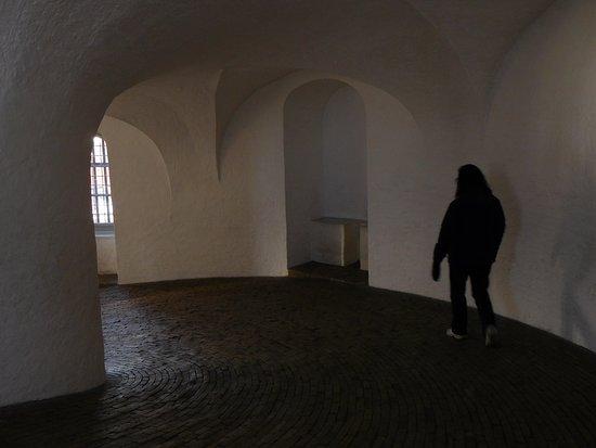 Torre Redonda (Rundetårn): The spiral ramp