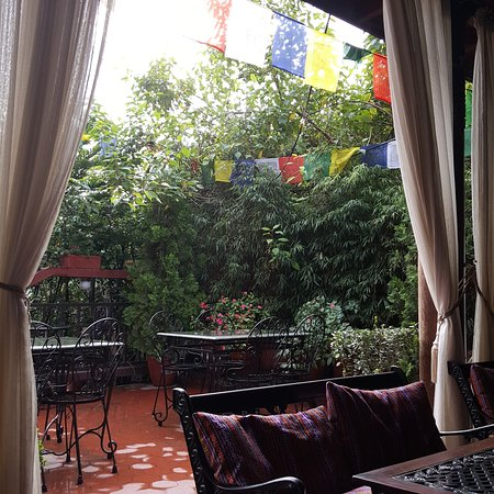 Hotel Tibet: my favourite place to enjoy a cup of coffee.