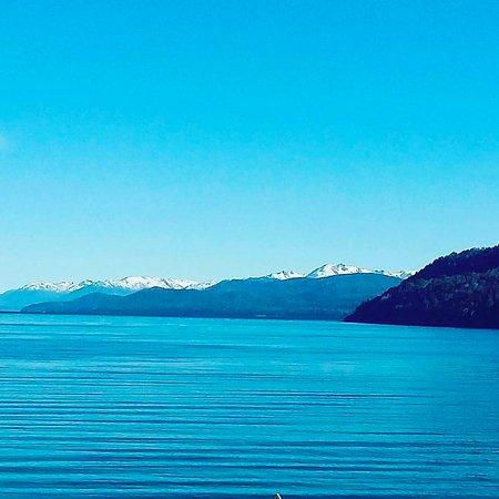 Apart del Lago: Vista desde la salida de las habitaciones