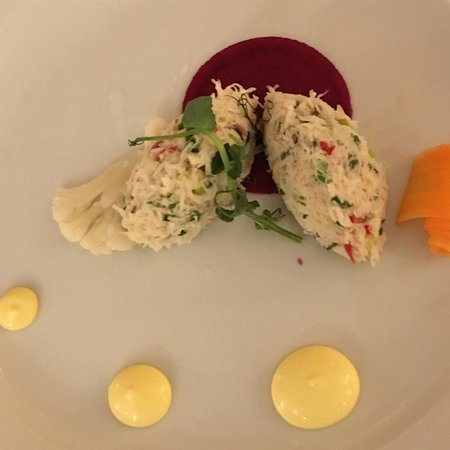 Renvyle, Ireland: Crab starter - out of this world!