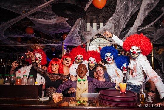 Halloween picture of au bureau enghien les bains tripadvisor