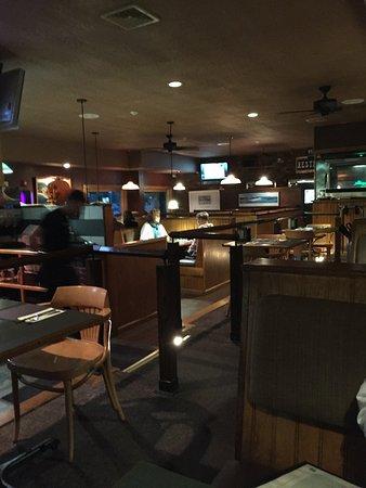 Patrick's Pub & Eatery: Interior of pub