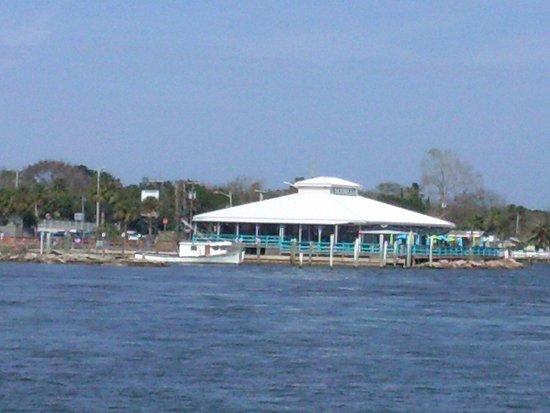 Sandollar Restaurant as seen from the Mayport Ferry