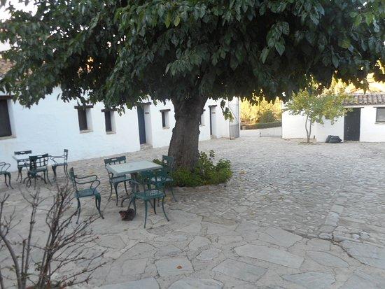 Hotel El Horcajo: binnenplaats