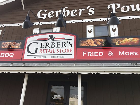 Gerber's Fried Chicken in Kidron, Ohio