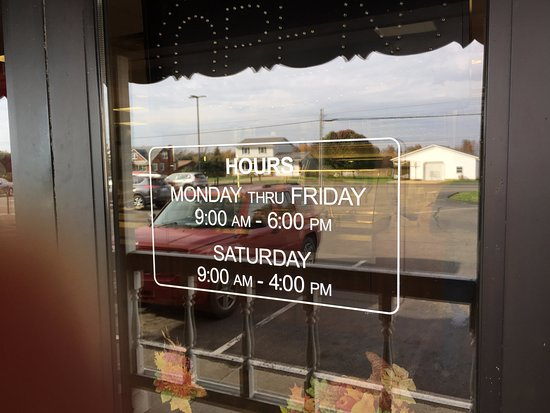 Gerber's Fried Chicken in Kidron, Ohio - store hours