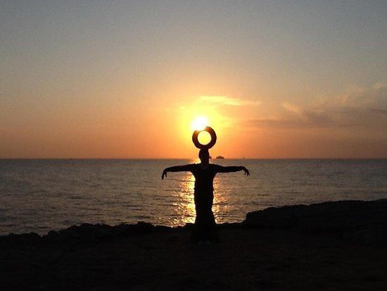 Parikia, Yunanistan: Photos du sun set aux casemates