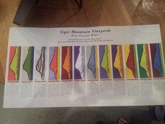 Tiger, جورجيا: Tiger Mountain Vineyards