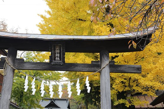 Minano-machi, Japan: 国神神社の鳥居