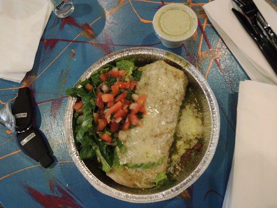 Cafe Rio: Steak Burrito