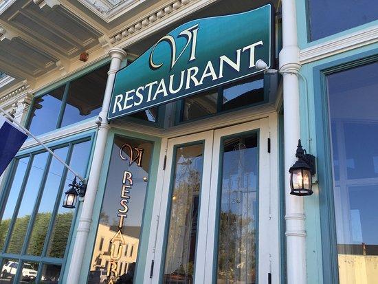 Restaurant Entrance Picture Of Vi Restaurant Bar Ferndale