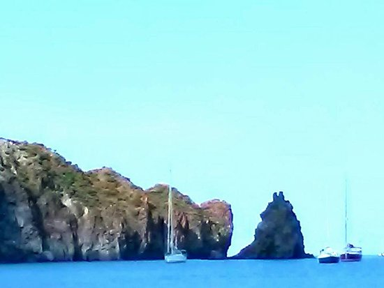 Isola Vulcano, Italia: La baia