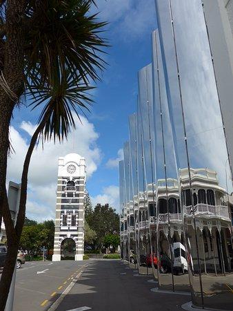 New Plymouth, Nueva Zelanda: Len Lye Centre exterior