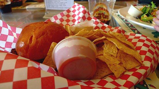 Ohiopyle, PA: pulled pork sandwich platter