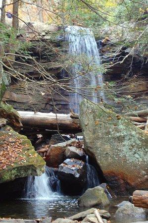 Ohiopyle, PA: Cucumber Falls along Rt. 381