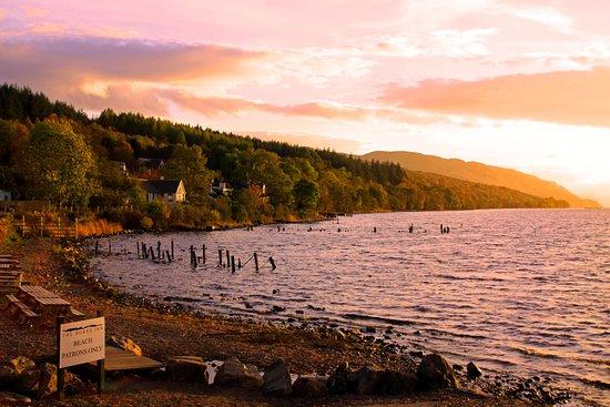 Loch Ness: Vista do lago Ness