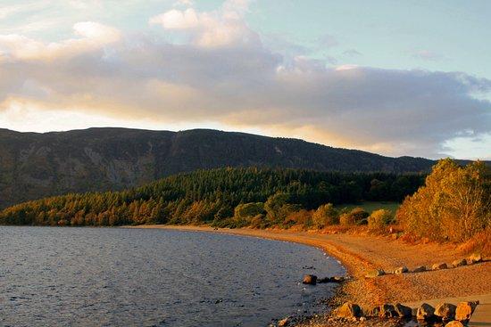 Loch Ness: Lago Ness, perto da região de Doris