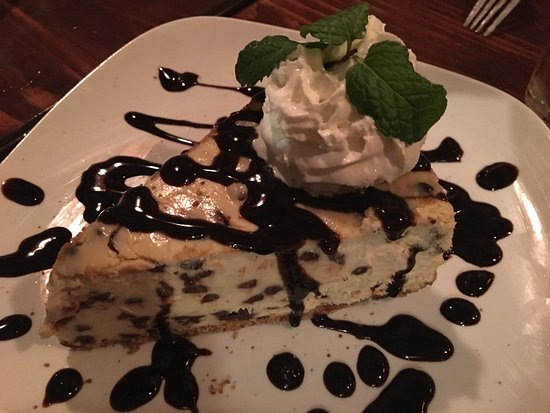 Nunica, MI: Yummy Hazelnut Chocolate Chip Cheesecake!!