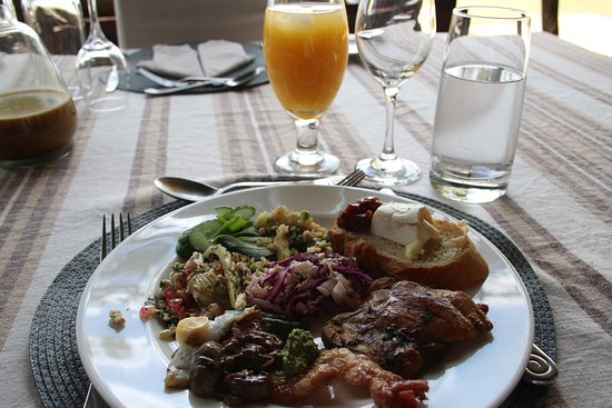 Mara Plains Camp: Tasty food