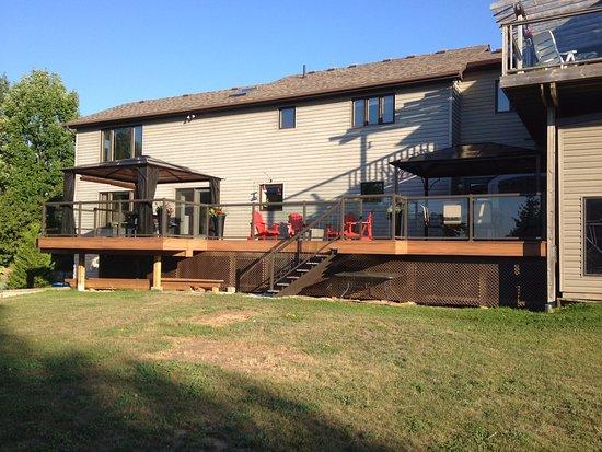 Wiarton, แคนาดา: Rear Deck