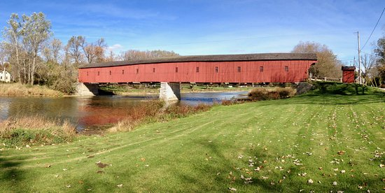 West Montrose Covered Bridge Kissing Bridge Waterloo
