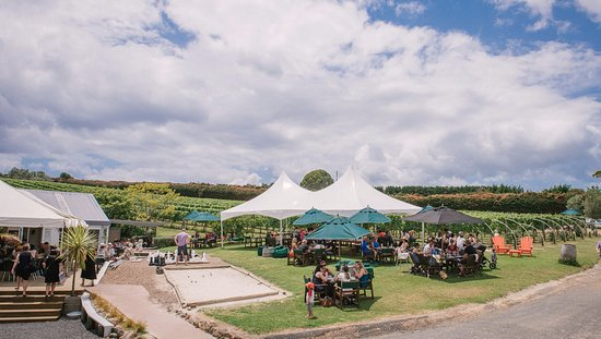 Wild on Waiheke: Outdoor Beer Garden