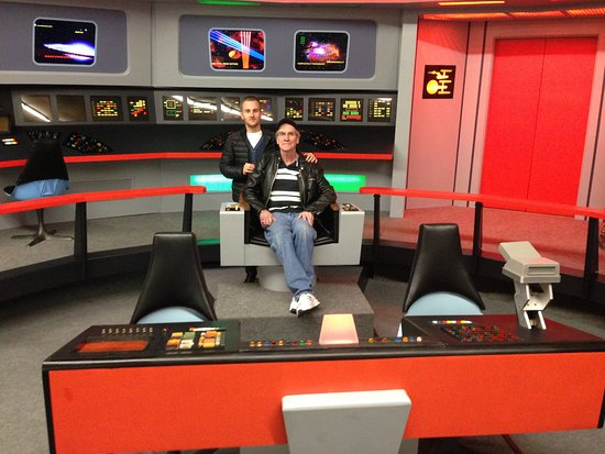 Ticonderoga Star Trek Set Tour