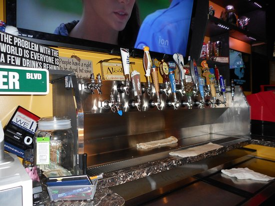 Indian Head, MD: 17 beers on tap and  2 wines on tap