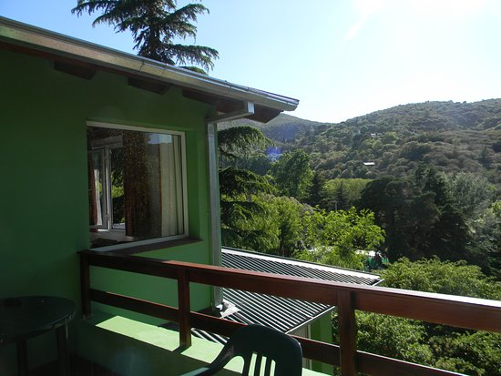 Terrazas de Cruz Chica: vista desde la terraza
