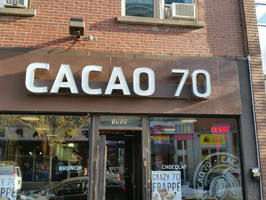 Cacao 70 : the location