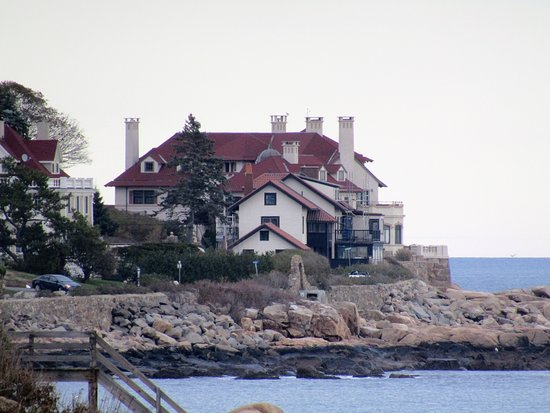 Manchester-by-the-Sea, Массачусетс: house on the beach