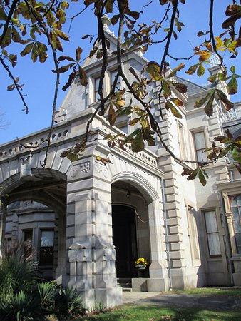 Lockwood-Mathews Mansion Museum: Another perspective of the Grand Entrance