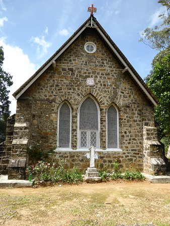 Dickoya, Sri Lanka: Peaceful Warleigh Church is small and was built in 1878.