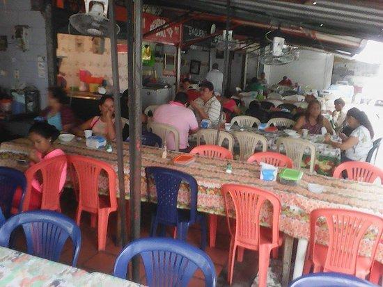 Plaza de Mercado: nice restaurant area. local cuisine of all sorts