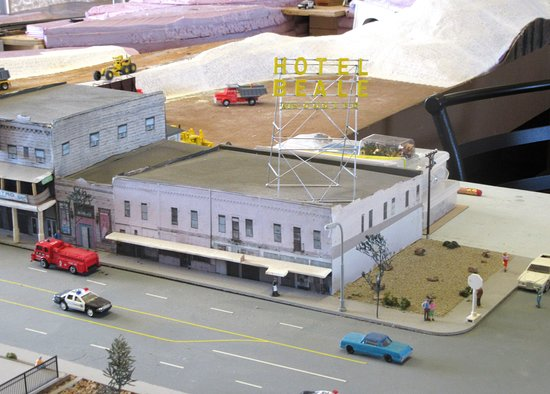 Kingman Railroad Musem City Hotel Beale Model Museum