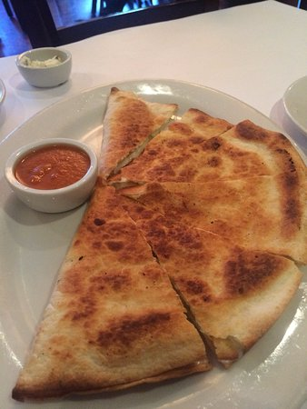 Danville, Californien: pear quesadilla