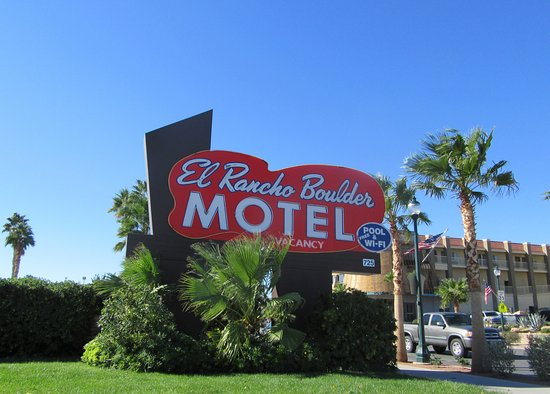 El Rancho Boulder Motel, Boulder City, Nevada