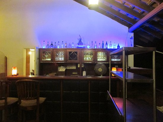 Anjuna, Indien: The Open Bar at our Resort