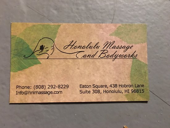 Honolulu Massage and Bodyworks