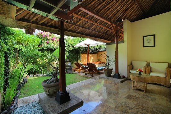 Java Villa private garden view - Picture of Alam KulKul Boutique ...