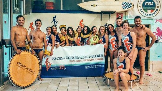 Piscina allende team 63